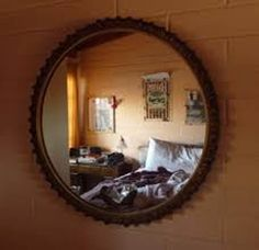 Do Not Place A Mirror opposite the bed