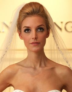 WeddingChannel Galleries: Classic Updo with Veil