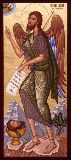 This is the one about whom it is written: 'Behold, I am sending my messenger ahead of you; he will prepare your way before you.' Amen, I say to you, among those born of women there has been none greater than John the Baptist; yet the least in the kingdom of heaven is greater than he. From the days of John the Baptist until now, the kingdom of heaven suffers violence, and the violent are taking it by force. . -Matthew 11:10-12 (NABRE)