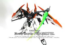 MG 1/100 Gundam Deathscythe Rousette - Custom Build