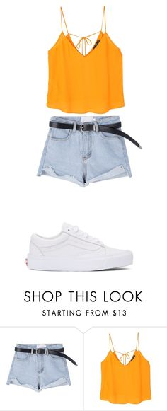 """Untitled #77"" by leikas ❤ liked on Polyvore featuring MANGO and Vans"