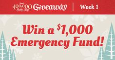 This Christmas, Dave's giving away over $100,000 worth of cash and prizes! Enter once a day, no purchase necessary for your chance to win!