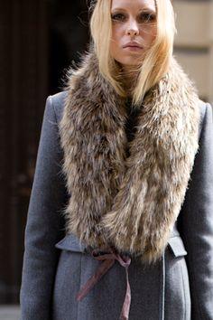 High Tech Fur Collar | Emerson Fry