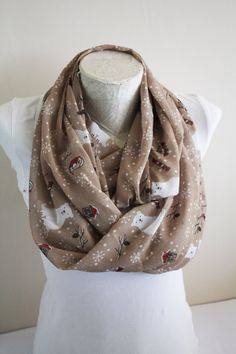 Bear Scarf Polar Bear Infinity Scarf Bird Scarf Nordic Clothing Winter Accessories Christmas gifts for her by dreamexpress from dreamexpress on Etsy. Find it now at http://ift.tt/2ebKwYP!