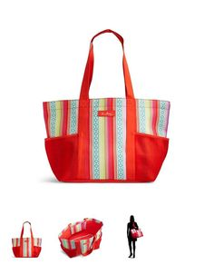 ae74e0536818 Lighten Up Family Tote by Vera Bradley in Serape Paradise. Available now  for Summer 2016