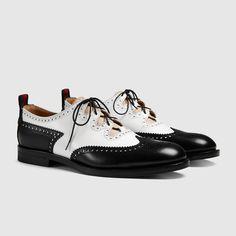 Gucci Men - Leather lace-up - 407302DKG501066