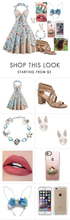 """Happy Easter!"" by kiara-fleming ❤ liked on Polyvore featuring Napier, Casetify, Speck and Easter"