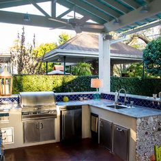 Wonderful Outdoor Kitchen Design Ideas, Pictures, Remodel And Decor