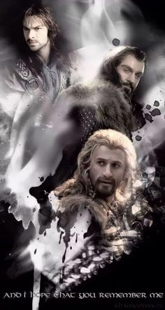 The Heirs of Durin. Neat graphic, and have to say (as blood-thirsty as it sounds), I am looking forward to their sorrowful demise in the next film...