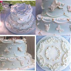 Cake royal icing by Titti Gualtieri