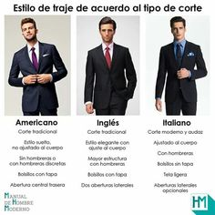 Tipos de traje Look Fashion, Mens Fashion, Fashion Outfits, Fashion Tips, Look Formal, Teenage Guys, Man Dressing Style, Ideal Man, Male Grooming
