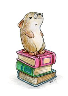 Librarian Hamster questions your ability to survive in the wild. - Ursula Vernon