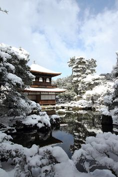 Ginkaku-ji, Kyoto, Japan. I have never been to Kyoto in the winter. It is beautiful. Kyoto is beautiful.