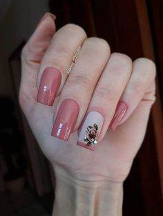 Dicas para unhas lindas e bem decoradas. Square Nail Designs, Nail Art Designs, Fancy Nails, Pink Nails, Gorgeous Nails, Pretty Nails, Butterfly Nail, Beautiful Nail Designs, Square Nails