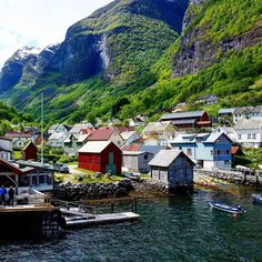 I never get sick of the scenery in Norway. This photo was taken of a gorgeous little village on our way to Myrdal during our fjord cruise to the Flåm Railway. Pretty as a picture!! http://ift.tt/1DCT1i1  #TheWellTravelledMan #Wanderlust #NeverStopTravelling #Travel #Inspiration #Motivation #IloveThisPlace #TravelBlog #BucketList #Photooftheday #holiday #getaway #wanderer #passportfullofstamps #bergen #norway #myrdal #flam #flamrailway #fjord #cruise #village #norwegian
