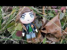 Katniss Everdeen Hunger Games Chibi Polymer Clay Tutorial / Arcilla Polimérica - YouTube