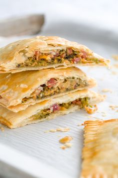 """Ham, Broccoli, and Cheddar Homemade """"Hot Pockets""""Delish Freezer Cooking, Freezer Meals, Cooking Recipes, Healthy Recipes, Free Recipes, What's Cooking, Healthy Desserts, Yummy Recipes, Healthy Food"""
