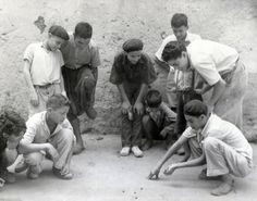 Jewish children playing in the Mellah. Casablanca, Morocco- 1948