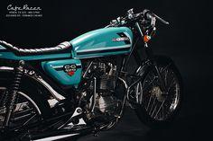 Customization project Honda CG 125 Cafe Racer 1980