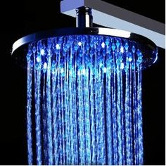 OKEBA 8 inch Rainfall Showerhead LED shower head with Build-in LED Light,do NOT need any batteries, BLUE/Green/RED (Temperature detectable)+ One Cool Skull Key Chain Charm Strap At Random Color  go here order now http://www.amazon.com/gp/product/B006OVQVI4/ref=as_li_qf_sp_asin_il_tl?ie=UTF8=hapyyshop-20=as2=1789=9325=B006OVQVI4