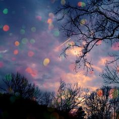 writing prompt: and suddenly, the sky was filled with beautiful orbs of many colours...