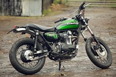 Kawasaki has commissioned a custom W800 from the English workshop Spirit of The Seventies, for its stand at the UK's Motorcycle Live show.