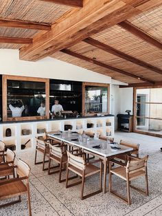 Élephante Beach House showcasing Mediterranean, Morocco, even Mexico coastal influences for a rustic modern vibe.