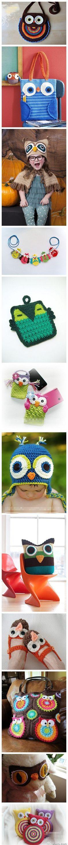 cute owl craft stuff   ♥