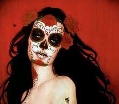 Dia de Los Muertos lindos
