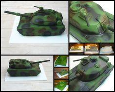 Tank cake - Tank torta