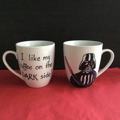 Star Wars mug Darth Vader / Birthday / Xmas by TattooTeaLady