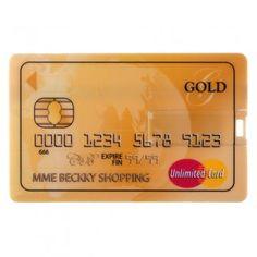 Credit Card shaped USB key