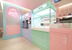 Hong Kong Hey Yo Concept Store by Design Action Cafe Shop Design, Cafe Interior Design, Bakery Design, Store Design, Interior Architecture, Retail Interior, Design Design, Deco Restaurant, Restaurant Design