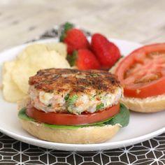 Shrimp burger -Shrimp Shack  St. Helena's Island,SC http://www.saveur.com/article/Recipes/Shrimp-Burgers