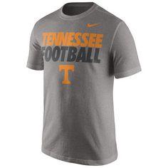 Tennessee Volunteers Nike Practice T-Shirt - Gray