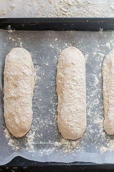 Recipe Homemade bread: Basic bread dough (quick and simple) Ciabatta, Antipasto, Pizza E Pasta, Biscotti, Focaccia Pizza, Easy Bread, Wonderful Recipe, Bread Recipes, Food And Drink