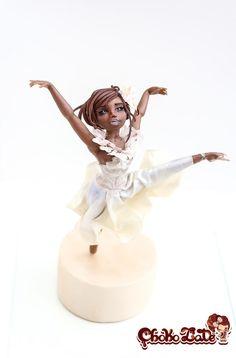 Flowing Ballerina - Cake by ChokoLate