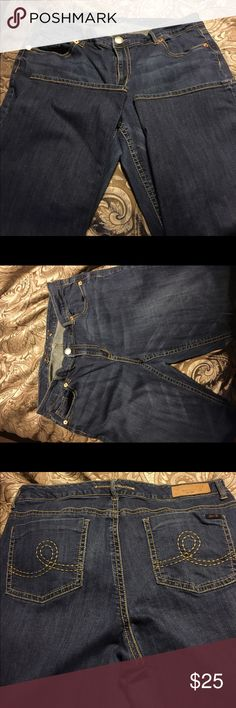 Designer Jeans Practically brand new. No imperfections. Smoke free home Seven7 Jeans Boot Cut