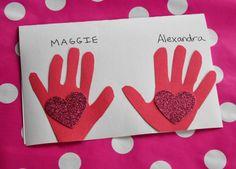 Valentine's Day Kids Craft:  Heart in Hand