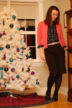 Confessions of a Wannabe Fashionista: A Crazy Christmas Cat Lady