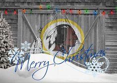 Redskins Greeting Card featuring the photograph Washington Redskins by Joe Hamilton