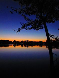 Bush Lake by Angela Bower #sunset