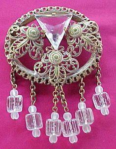 Filigree & Glass Beads & Rhinestones