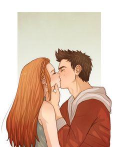 """dattebae: """"go on & kiss the girl;"""""""