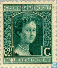 Stamps - Luxembourg - Grand Duchess Marie Adelaide