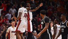 Le grand huit du Heat ! -  Le niveau de confiance du Heat lui permet debousculer toutes les équipes qui se dressent devant eux, et lorsqu'il s'agit des Nets, bons derniers de la NBA, forcément, c'est plus… Lire la suite»  http://www.basketusa.com/wp-content/uploads/2017/01/heat-nets-570x325.jpg - Par http://www.78682homes.com/le-grand-huit-du-heat homms2013 sur 78682 homes #Basket