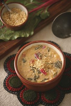 Simple Soups for Supper, Day 5: Peanut Pineapple Soup | Raising Jane Journal