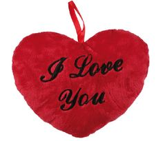 Having trouble expressing how you feel? Then, this I Love You heart cushion is just what you need. This little 26 cm heart cushion is the perfect romantic Valentine's Day or anniversary gift for the one you love. You can even give it to your mothe. I Love You, My Love, Wall Clock Price, Led Garland, Heart Emoticon, Red Love Heart, Heart Cushion, Candle Set, Heart Wall