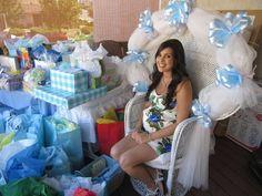 Nessa's Sport Baby Shower | CatchMyParty.com