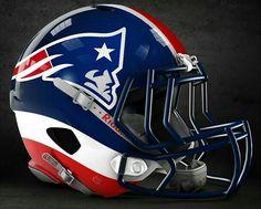 Casco Alternativo New England Patriots